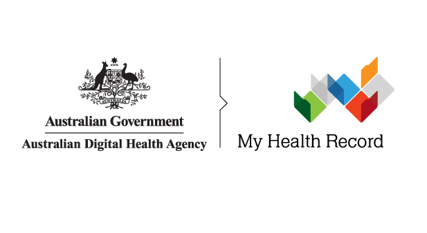 Image of my health record logo